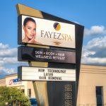 Fayez Spa Sign