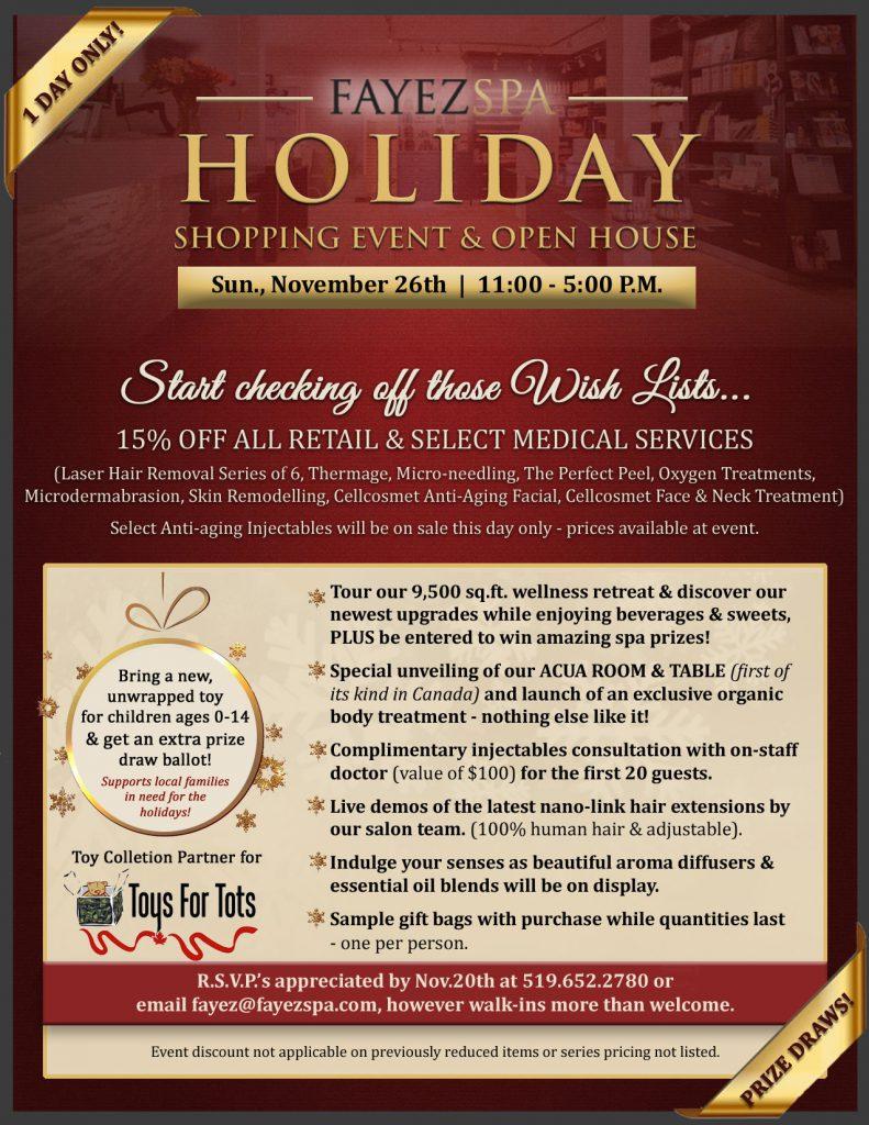 Fayez Holiday Event 2017