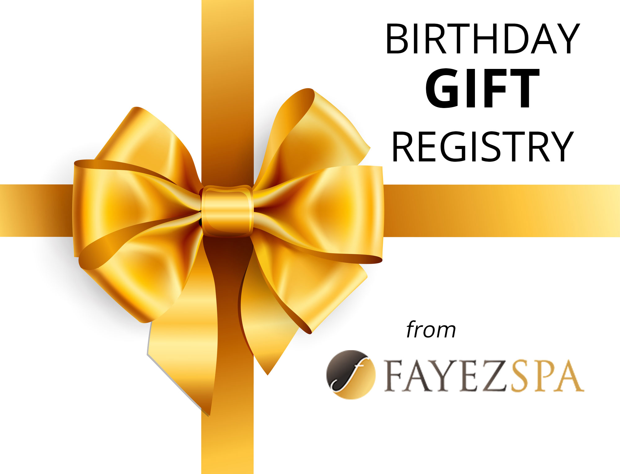 Birthday Gift From Fayez Spa