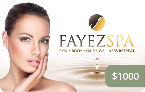 Fayez Spa Gift Card 1000