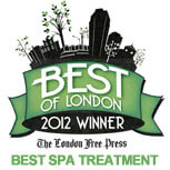 Best Spa of London 2012