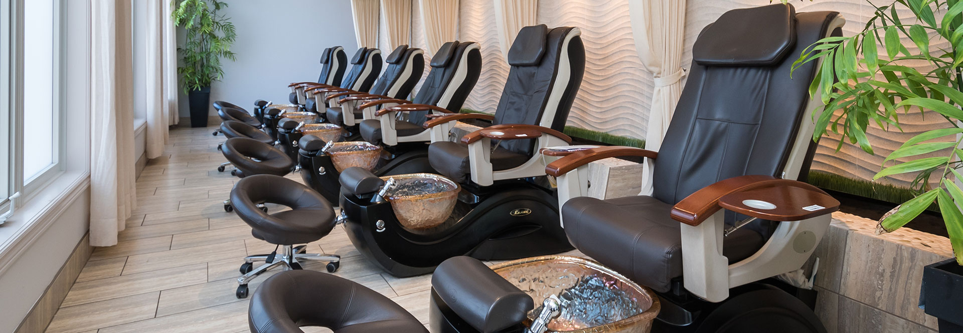 Fayez Spa Pedicure Area