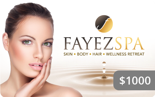 Fayez Spa Gift Card $1000