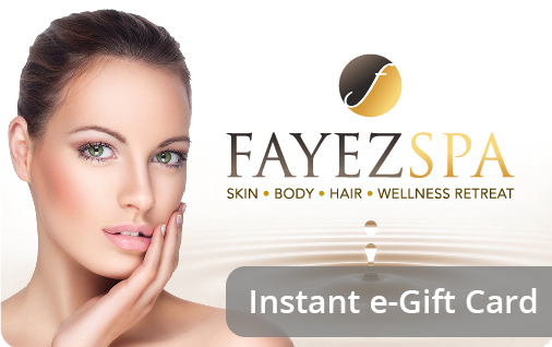 instant e-Gift Card from Fayez Spa
